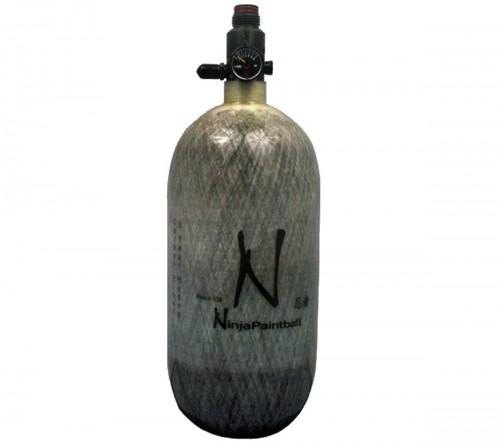 Ninja Paintball 4500 PSI Carbon Fiber HPA Tanks