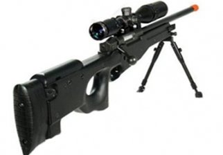 Black UTG Type 96 L96 Airsoft Sniper Rifle
