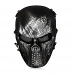 OutdoorMaster Airsoft Mask Metal Mesh Eye Full Face