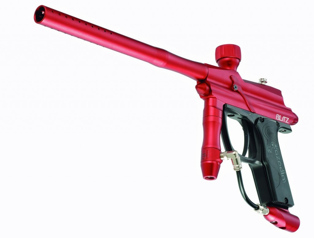 Azodin Blitz Paintball Gun - Matte Red