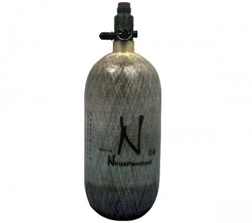 Ninja Paintball 4500 PSI Carbon Fiber HPA Tanks