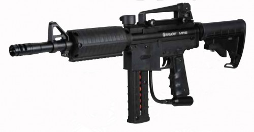 Spyder MR6 Paintball Gun Black