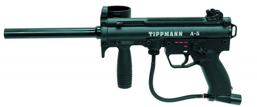 Tippmann A-5 Caliber Paintball Marker with E-Grip