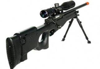 Black UTG Type 96 L96 Airsoft Sniper Rifle