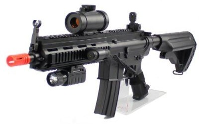 Velocity 614 Airsoft Rifle Red Dot Version 2012