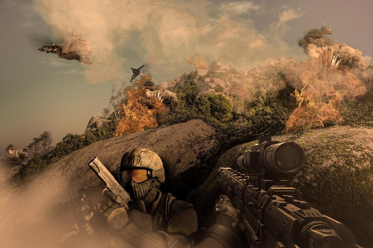 fantastic war concept